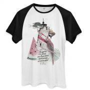 Camiseta Raglan Masculina Ivete Sangalo Iluminando a Minha Vida