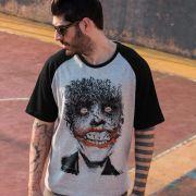 Camiseta Raglan Masculina The Joker Happy Bats