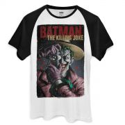 Camiseta Raglan Masculina The Joker Killing Joke