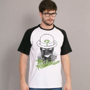 Camiseta Raglan Masculina The Riddler