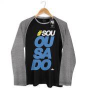 Camiseta Raglan Masculina Thiaguinho #Souousado