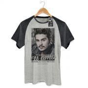 Camiseta Raglan Premium Masculina Luan Santana Eu Amo Só Você PB