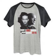 Camiseta Raglan Premium Masculina Os Paralamas do Sucesso Herbert Vianna 1983-2015