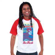 Camiseta Raglan Premium Masculina The Flash Scarlet Speedster