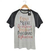 Camiseta Raglan Premium Masculina Thiaguinho Que Dia, Que Isso!