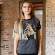 Camiseta Ringer Feminina Sandy Meu Canto Capa