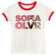 Camiseta Ringer Feminina Sofia Oliveira Logo Foto Off