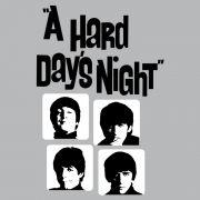 Camiseta Unissex The Beatles Hard Day´s Night Grey Basic