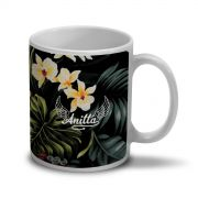 Caneca Anitta No Meu Talento Flowers