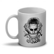 Caneca Esquadr�o Suicida The Joker Damaged