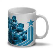 Caneca Halo Blue Team