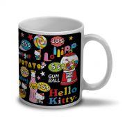 Caneca Hello Kitty Fast Food
