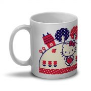 Caneca Hello Kitty Flowers