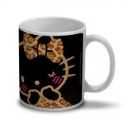 Caneca Hello Kitty Print Fuzzy
