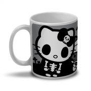 Caneca Hello Kitty Skull