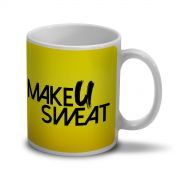Caneca Make U Sweat Foto