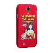 Capa de Celular Samsung Galaxy S4 Power Girls Mulher Maravilha