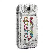 Capa de Celular Samsung Galaxy S4 Thiaguinho Ousadia e Alegria Colors