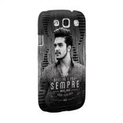 Capa para Samsung S3 Luan Santana Meu Destino P&B