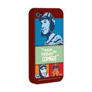 Capa de iPhone 4/4S Chaves Ningu�m Tem Paci�ncia Comigo! Vintage