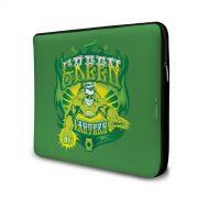 Capa de Notebook Lanterna Verde Em Ação