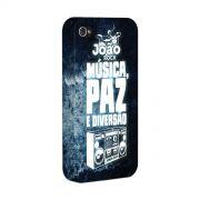 Capa para iPhone 4/4S João Rock Música