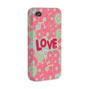 Capa para iPhone 4/4S TodaTeen Love Donuts!