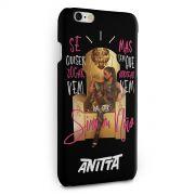 Capa para iPhone 6/6S PLUS Anitta Sim ou Não