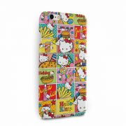 Capa para iPhone 6/6S Plus Hello Kitty Junk Food HQ