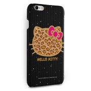 Capa para iPhone 6/6S Plus Hello Kitty Print Fuzzy