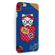 Capa para iPhone 6/6S Plus Hello Kitty Retro Denim