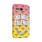 Capa para Motorola Moto G 1 Anitta No Meu Talento
