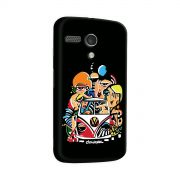 Capa para Motorola Moto G 1 Cissa Raphael Trupe