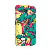 Capa para Motorola Moto G 1 Monstra Maçã Crazy Dog