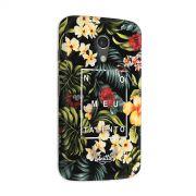 Capa para Motorola Moto G 2 Anitta No Meu Talento Flowers