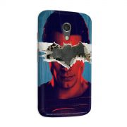Capa para Motorola Moto G 2 Batman VS Superman Man VS God