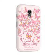 Capa para Motorola Moto G 2 Hello Kitty Butterflies Dream