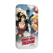 Capa para Motorola Moto G 2 Women Unite for Freedom