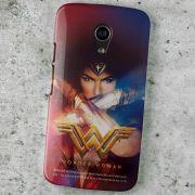 Capa para Motorola Moto G 2 Wonder Woman Power