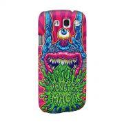 Capa para Samsung Galaxy S3 Monstra Maçã Puke