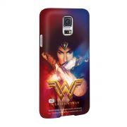 Capa para Samsung Galaxy S5 Wonder Woman Power