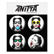 Cartela de Buttons Anitta Bang!