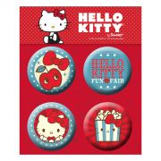 Cartela de Buttons Hello Kitty Fun Fair