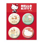 Cartela de Buttons Hello Kitty Modelo 2