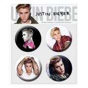 Cartela de Buttons Justin Bieber Purpose