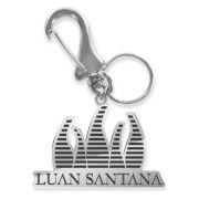 Chaveiro de Metal Luan Santana Logo