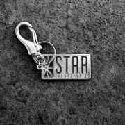 Chaveiro de Metal The Flash Serie STAR Laboratories