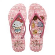 Chinelo Feminino Hello Kitty Look