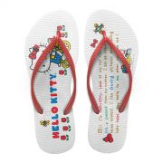 Chinelo Feminino Hello Kitty Tricycle