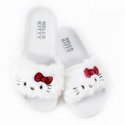 Chinelo Hello Kitty White